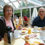 Breakfast at the Riessersee Hotel