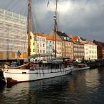 Nyhavn street, with the hotel on the right