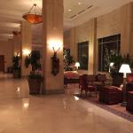 Lobby sitting area by the front desk...
