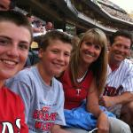 Family time at the Twins game!