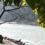 Scenic view at he banks of Ganges near Glasshouse