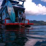 The Montalay Bay diving boat