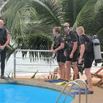 Montalay Swimming Pool PADI Confined Water Dive