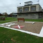 East Kirkby control tower - lots of displays inside