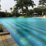 The Mulia pool