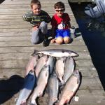 Boys with their fish