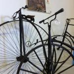 Old bicycles/penny farthings