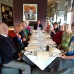 Caleb group enjoying Sunday lunch at holiday inn dumfries