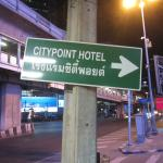 The hotel is easy to find one block off of Sukhumvit Rd.