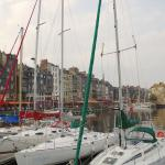 l'Absinthe is just steps from the picturesque Honfleur harbor
