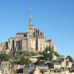 Mont St. Michel is about half an hour away by car.