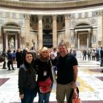 Pantheon with Francesca