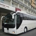 Hotel and our bus :-)