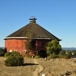 Love the Round Barn!
