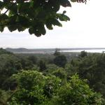 View from path round national park