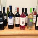 The wines we brought home