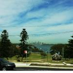 Looking to the City from Watsons bay