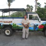 Greg with one of his Land Rovers