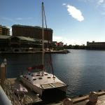 Walk to restaurants, Harborside, Channelside
