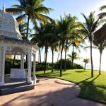 Wedding gazebo at the Grand Lucayan.