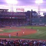 View from Infield Grandstand 12 | Row 09 | Seats 4