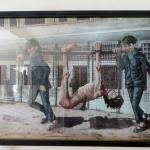 A painting of one of the atrocities that happened in S21