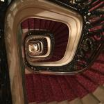 Grand old staircase - there are 2 lifts!
