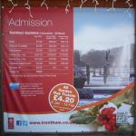 Gardens admission prices