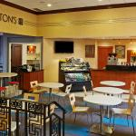 Loftons Corner, serving Starbucks blends and a wide selection of pastries