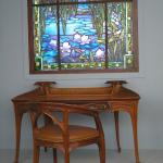 Stained Glass and Furniture in the American & European Design Gallery