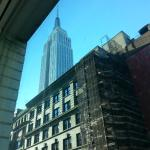 Empire State Building in the morning
