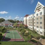 Residence Inn Norfolk Airport Courtyard and Sportcourt