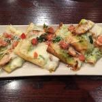 Chicken Pesto Flatbread. Good, but not great.