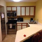 Kitchen area room 1611.