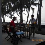 breakfast with indian ocean