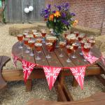Pimms Wedding Table