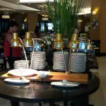 Breakfast buffet in main restaurant