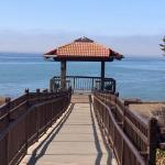 The beautiful gazebo that overlooks the ocean.
