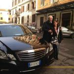 My personal driver in Rome