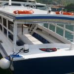 Comfortable boat, for 80 passengers