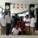 Part of the Team who made our stay memorable.
