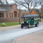 One of three modes of transportation available in Greenfield Village
