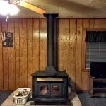 Antique wood burner