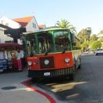 Trolley in action, photo by Mike Keenan