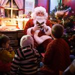 Father Christmas at the farm