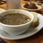 Andouille and chicken gumbo