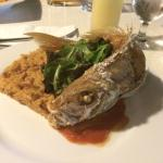 Mr red snapper. He was so delish!