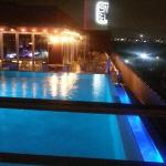 Pool & rooftop lounge