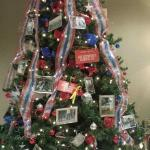 Armed Forces Officers Tree...one of approx 20 St Francis Tree Festival Chrustmas trees in the Hy