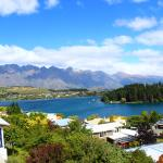 Lake view of the Remarkables